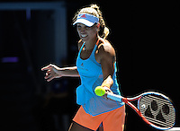 Angelique Kerber of Germany  in action during Day five of the Australian Open Tennis Championships held in Melbourne Park, Australia on 20th January 2017