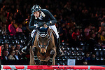 Martin Fuchs of Switzerland riding PSG Future competes at the Hong Kong Jockey Club trophy during the Longines Hong Kong Masters 2015 at the AsiaWorld Expo on 13 February 2015 in Hong Kong, China. Photo by Juan Flor / Power Sport Images