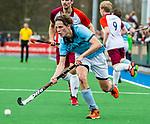 ALMERE - Hockey - Hoofdklasse competitie heren. ALMERE-HGC (0-1) . Pelle Vos (HGC)   COPYRIGHT KOEN SUYK
