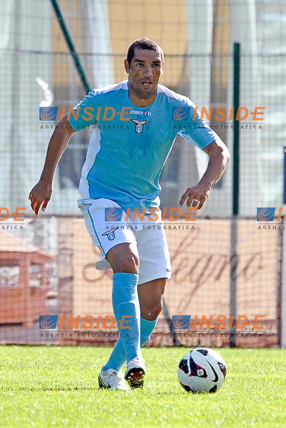 Andre' Dias Lazio.Auronzo di Cadore 21/7/2012.Football Calcio 2012 / 2013 .Amichevole Friendly Match.SS Lazio Vs AC Montebelluna.Foto Insidefoto.