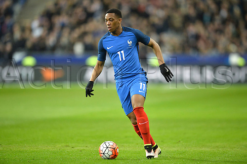 29.03.2016. Stade de France, Paris, France. International football friendly. France versus Russia.  ANTHONY MARTIAL