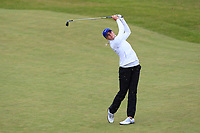 Daniella Barrett (FIN) on the 2nd fairway during Matchplay Semi-Finals of the Women's Amateur Championship at Royal County Down Golf Club in Newcastle Co. Down on Saturday 15th June 2019.<br /> Picture:  Thos Caffrey / www.golffile.ie