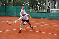 4-3-09,Argentina, Buenos Aires, Daviscup  Argentina-Netherlands, Training,