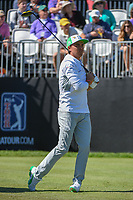 Rickie Fowler (USA) watches his tee shot on 1 during round 1 of the Arnold Palmer Invitational at Bay Hill Golf Club, Bay Hill, Florida. 3/7/2019.<br /> Picture: Golffile | Ken Murray<br /> <br /> <br /> All photo usage must carry mandatory copyright credit (© Golffile | Ken Murray)