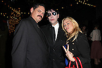 Mark Burnham, Marilyn Manson, Jennifer Blanc<br />