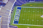 Aerial view of Qualcomm Stadium home of the  San Diego Chargers ([Julia Robertson]/via AP Images)
