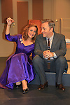 """Michael Rhodes & Colleen Zenk - As The World Turns - stars in Looped - about Tallulah Bankhead - original premiere - at Stageworks/Hudson Theater Outside The Box on July 14, 2013 running until July 28 - also stars Michael Rhodes and Steve Austin Young. """"All he needed was one line . . . All Tallulah needed was eight hours . . .""""  (Photo by Sue Coflin/Max Photos)"""
