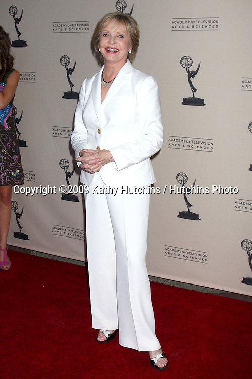 Florence Henderson arriving at  the Daytime Emmy Nominees Reception at the Television Academy  in  North Hollywood, CA on August 27, 2009.©2009 Kathy Hutchins / Hutchins Photo.