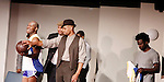 Cast: Thaddeus Huffnagle, Layon Gray, Delano Barbosa, Ade Otukoya star in Layon Gray's Kings of Harlem - a story about the Harlem Rens who were one of the dominant basketball teams of the 1920's and 1930's - had a special show on September 15, 2015 at St. Luke's Theatre, New York City, New York. The play stars Melvin Huffnagle, Thaddeus Daniels, Ade Otukoya, Lamar Cheston, Delano Barbosa, Jeantique Oriol and Layon Gray.  (Photo by Sue Coflin/Max Photos)