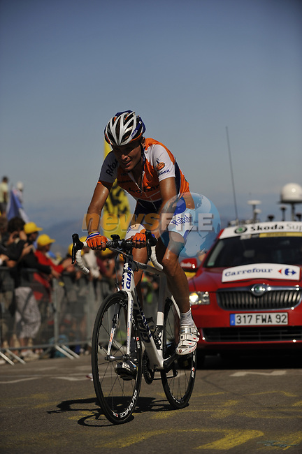 Joost Posthuma (Ned) Rabobank close to the finish of Mont Ventoux during Stage19 of the Tour de France 2009 running 167km from Montelimar to Mont Ventoux, France. 25th July 2009 (Photo by Eoin Clarke/NEWSFILE)