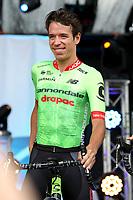 Rigoberto Uran aus dem Cannondale Drapac Professional Cycling Team bei der Teamvorstellung der Tour de France 2017 auf dem Burgplatz. Düsseldorf, 29.06.2017