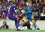Kroos in action during Supercopa de España game 1 between FC Barcelona against Real Madrid at Camp Nou