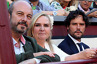 San Isidro Bullfight Festival at Las Ventas bull round in Madrid on May 15, 2019.<br /> Pedro Rollan, Rosalia Gonzalo and Miguel Abellan