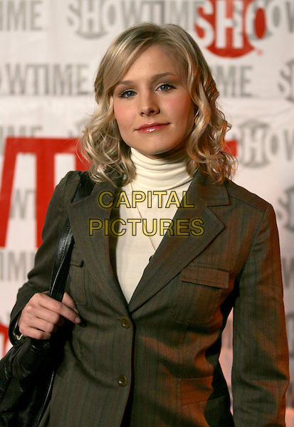 KRISTEN BELL.attends ShowtimeÕs TCA Press Tour Party held at Stage 6 at Universal Studios in Universal City, California, USA, January 12th 2005.half length.Ref: DVS.www.capitalpictures.com.sales@capitalpictures.com.©Debbie VanStory/Capital Pictures .