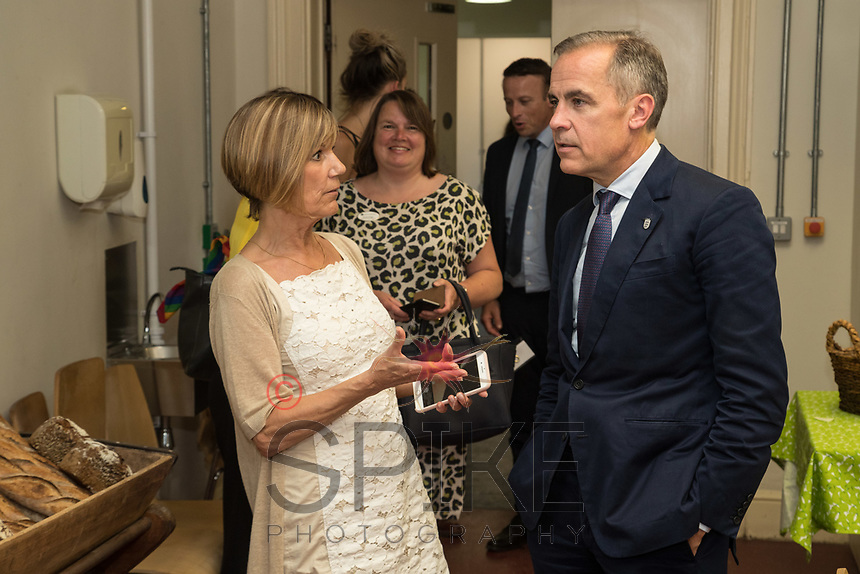 Julie Byrne of School of Artisan Food welcomes Mark Carney, Governor of the Bank of England