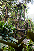 Las Pozas, Edward James surrealist sculptures in the jungle of Xilitla, San Luis Potosi, Mexico