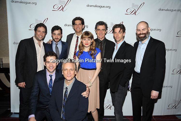 cast of Peter and the Starcatcher attend the 78th Annual  Drama League Awards Luncheon at The Marriott Marquis Hotel in New YOrk City on May 18, 2012.