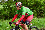 Filippo Fortin (ITA) Cofidis wearing the Green Jersey during Stage 2 of the 2019 Tour de Yorkshire, running 132km from Barnsley to Bedale, Yorkshire, England. 3rd May 2019.<br /> Picture: ASO/SWPix | Cyclefile<br /> <br /> All photos usage must carry mandatory copyright credit (© Cyclefile | ASO/SWPix)