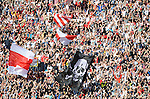 FUDBAL, BEOGRAD, 23. Oct. 2010. - Navijaci Crvene zvezde. Utakmica 9. kola Jelen Superlige Srbije (2010/2011) izmedju Crvene zvezde i Partizana - 139. 'veciti derbi'. Foto: Nenad Negovanovic