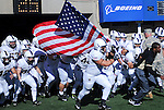 November 7, 2015 - Colorado Springs, Colorado, U.S. - The Army Black Knights enter the stadium prior to the NCAA Football game between the Army Black Knights and the Air Force Academy Falcons at Falcon Stadium, U.S. Air Force Academy, Colorado Springs, Colorado.  Air Force defeats Army 20-3.