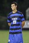 30 August 2013: Duke's Brody Huitema (CAN). The Duke University Blue Devils hosted the Rutgers University Scarlet Knights at Koskinen Stadium in Durham, NC in a 2013 NCAA Division I Men's Soccer match. The game ended in a 1-1 tie after two overtimes.