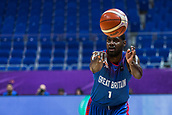 7th September 2017, Fenerbahce Arena, Istanbul, Turkey; FIBA Eurobasket Group D; Russia versus Great Britain; Shooting Guard Kyle Johnson #1 of Great Britain in passing action during the match