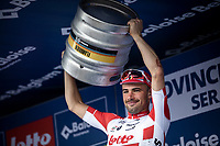 Stage winner Victor Campenaerts (BEL/Lotto Soudal) <br /> <br /> Baloise Belgium Tour 2019<br /> Stage 4: Seraing – Seraing 151.1km<br /> ©kramon