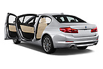 Car images close up view of a 2018 BMW 5 Series 530i 4 Door Sedan doors