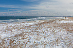 Winter at Crane Beach in Ipswich, Massachusetts, USA