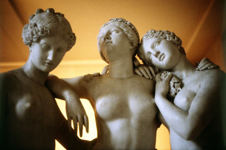 Three Marble Women