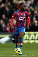 3rd November 2019; Selhurst Park, London, England; English Premier League Football, Crystal Palace versus Leicester City; Christian Benteke of Crystal Palace - Strictly Editorial Use Only. No use with unauthorized audio, video, data, fixture lists, club/league logos or 'live' services. Online in-match use limited to 120 images, no video emulation. No use in betting, games or single club/league/player publications