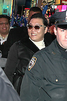 NEW YORK, NY DECEMBER 31: Psy at New Year's Eve 2013 in Times Square in New York City. December 31, 2012. New York City. Credit: RW/MediaPunch Inc.