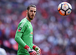 Manchester United goalkeeper David De Gea during the FA cup semi-final match at Wembley Stadium, London. Picture date 21st April, 2018. Picture credit should read: Robin Parker/Sportimage