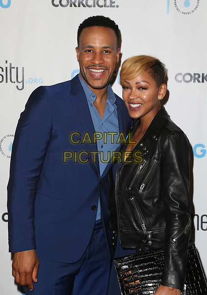 BEVERLY HILLS, CA - March 21: DeVon Franklin, Meagan Good, At Generosity.org Fundraiser For World Water Day At Montage Hotel In California on March 21, 2017. <br /> CAP/MPI/FS<br /> &copy;FS/MPI/Capital Pictures