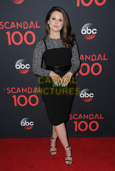 08 April 2017 - West Hollywood, California - Katie Lowes. ABC's 'Scandal' 100th Episode Celebration held at Fig &amp; Olive in West Hollywood.   <br /> CAP/ADM/BT<br /> &copy;BT/ADM/Capital Pictures