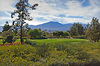 Stock photo of golf course in La Quinta, California