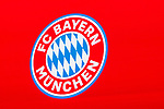 15.11.2019, Olympiahalle München , Muenchen, GER, 1.FBL,  FC Bayern Muenchen Jahreshauptversammlung 2019, DFL regulations prohibit any use of photographs as image sequences and/or quasi-video, im Bild feature Logo FC Bayern <br /> <br />  Foto © nordphoto / Straubmeier