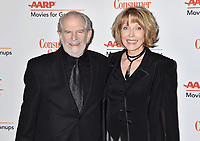 BEVERLY HILLS, CA - FEBRUARY 04: Steve Jaffe (L) and Susan Blakely attend the 18th Annual AARP The Magazine's Movies For Grownups Awards at the Beverly Wilshire Four Seasons Hotel on February 04, 2019 in Beverly Hills, California.<br /> CAP/ROT/TM<br /> &copy;TM/ROT/Capital Pictures