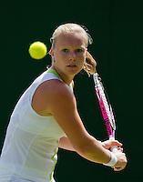 26-06-12, England, London, Tennis , Wimbledon, Kiki Bertens