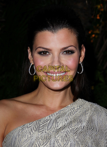 ALI LANDRY.QVC Red Carpet Style held at The Four Seasons Hotel, Beverly Hills, CA, USA..March 5th, 2010.headshot portrait silver grey gray one shoulder .CAP/ADM/CH.©Charles Harris/AdMedia/Capital Pictures