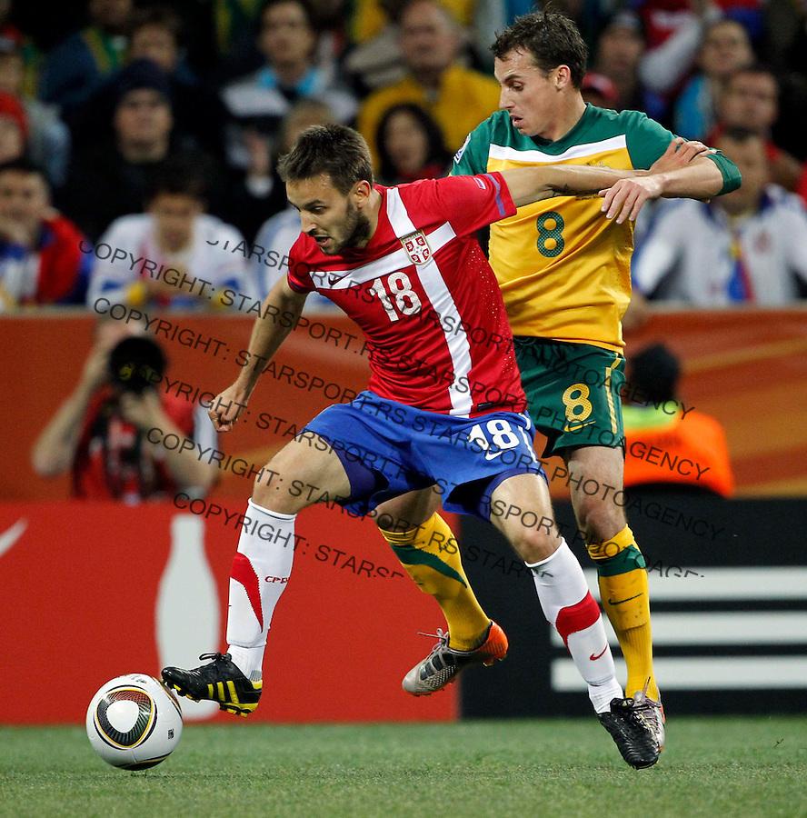 Ninkovic Milos Soccer Football - 2010 FIFA World Cup - Group D - Australia  v Serbia 044008e4d031a