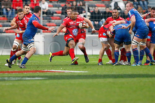 04.01.2014. Toulon, France. Top 14 rugby union. Toulon versus Grenoble.  staffon armitage (rct)