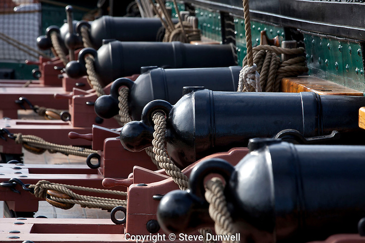 """USS Constitution, """"Old Ironsides"""", Charlestown, MA."""
