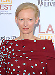 Tilda Swinton attends The LOS ANGELES FILM FESTIVAL Opening Night Gala: SNOWPIERCER held at Regal Cinemas  in Los Angeles, California on June 11,2014                                                                               © 2014 Hollywood Press Agency