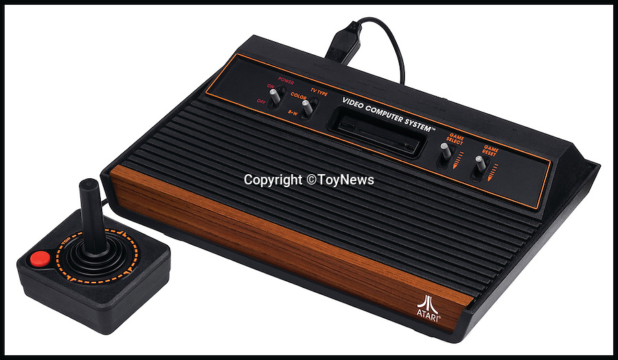 BNPS.co.uk (01202 558833)<br /> Pic: ToyNews/BNPS<br /> <br /> ***Please Use Full Byline***<br /> <br /> Atari: Number 14. <br /> <br /> A unique survey has revealed the top 50 greatest toys of all time according to the bosses of Britain's biggest toy companies. <br /> <br /> For the first time, toy experts from across the country have come together to cast their votes on the toys they think have shaped the industry over the last 50 years.<br /> <br /> Executives from 100 toy companies took part in the survey, carried out by industry bible ToyNews for a bumper edition launched at the London Toy Fair.