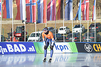 SPEED SKATING: COLLALBO: Arena Ritten, 11-01-2019, ISU European Speed Skating Championships, training, Sven Kramer (NED), ©photo Martin de Jong