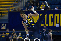 Berkeley, CA - March 4, 2017: Cal men's gymnastics vs Air Force and Southern California United at Haas Pavilion.