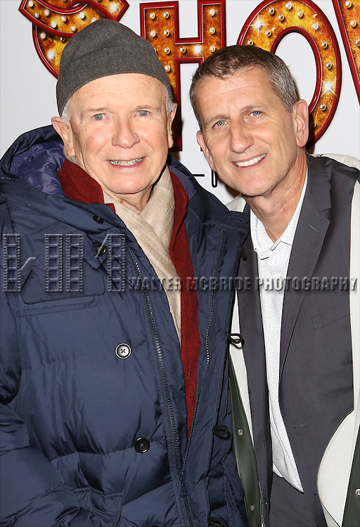 Terrence McNally and Tom Kirdahy attends the Broadway Opening Performance of 'Side Show' at St. James Theatre Theatre on November 17, 2014 in New York City.