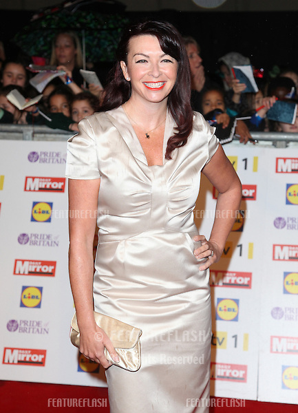 Suzi Perry arriving for the 2012 Pride of Britain Awards, at the Grosvenor House Hotel, London. 29/10/2012 Picture by: Alexandra Glen / Featureflash