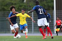 Pedrinho of Brazil and Corinthians in action during France Under-18 vs Brazil Under-20, Tournoi Maurice Revello Football at Stade d'Honneur Marcel Roustan on 5th June 2019